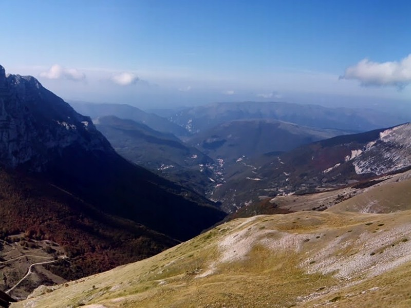 The Sibillini Mountains